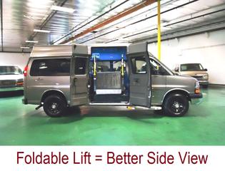 2006 CHEVY 3500 - Mobility Conversion Van
