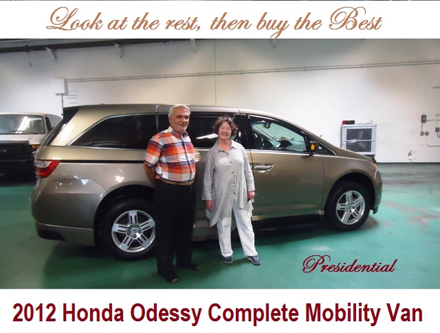 Thank You For Making Our Mobility Van Purchase Such A Positive Experience I Appreciate Your Patience While The Credit Union Lumbered Through Their